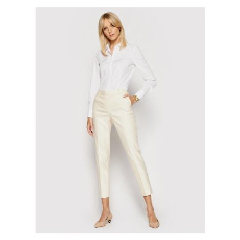 Marc O'Polo Koszula B01 1457 42563 Biały Slim Fit