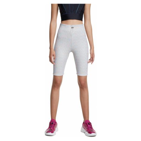 Desigual białe szorty sportowe Cycling Legging Studio White