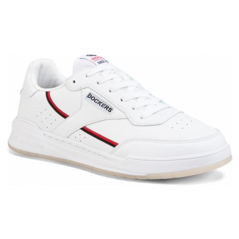 Sneakersy DOCKERS - 46RM001-610501 White/Black