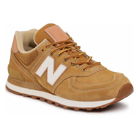 Sneakersy NEW BALANCE - ML574XAA Brązowy
