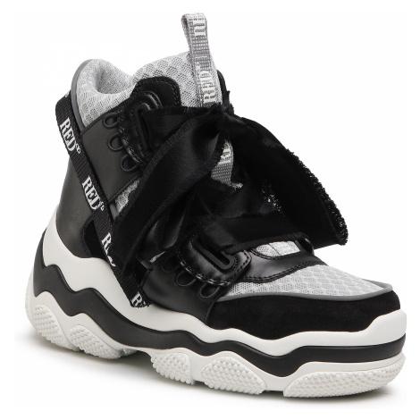 Sneakersy RED VALENTINO - VQ2S0F32 Nero/Arg 0NO