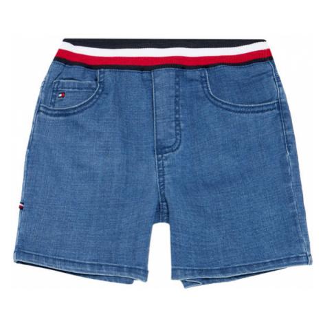 Tommy Hilfiger Szorty jeansowe KN0KN01292 Niebieski Regular Fit