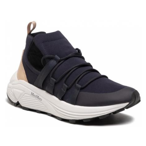 Max Mara Sneakersy Raissa 476113166 Granatowy