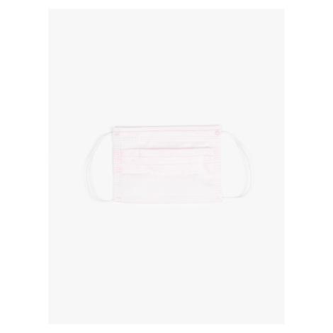 GATE 3-warstwowa jednorazowa maseczka na twarz  dla dzieci , różowa (50 sztuk / 8lat-12lat)