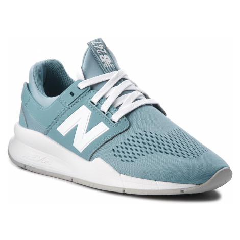 Sneakersy NEW BALANCE - WS247UF Niebieski