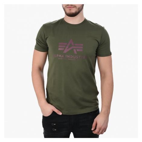 Koszulka męska Alpha Industries Basic 100501 257