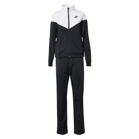 Nike Sportswear Strój do biegania biały / czarny