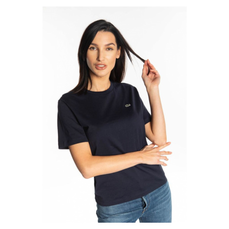 Koszulka Lacoste Crew T-Shirt 166 Navy Blue