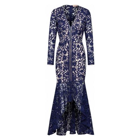Love Triangle Suknia wieczorowa 'LOVE BIRD DRESS' niebieski / biały