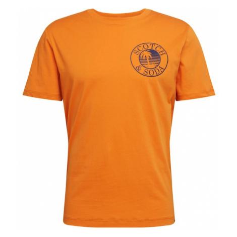 SCOTCH & SODA Koszulka pomarańczowy