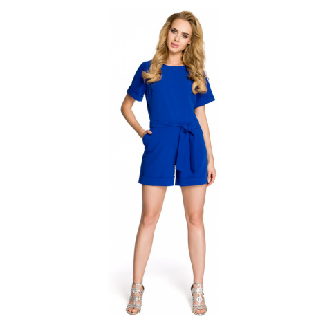 Made Of Emotion Woman's Jumpsuit M320 Royal