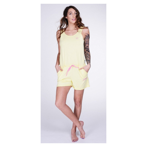 kombinezon Lazzzy Summy Short - Light Yellow