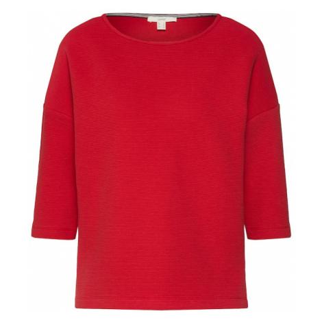ESPRIT Bluzka sportowa czerwony