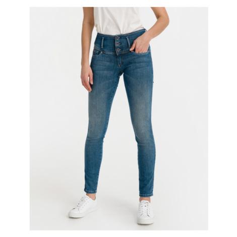Salsa Jeans Mystery Push Up Dżinsy Niebieski