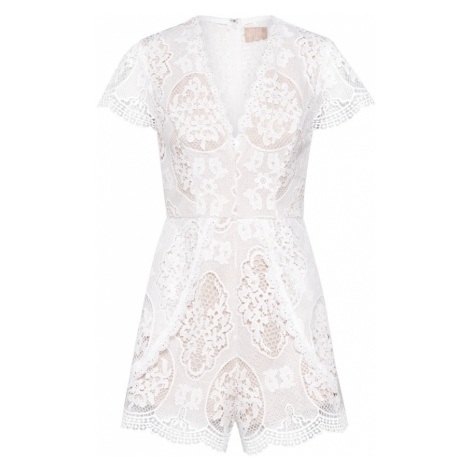 Love Triangle Kombinezon 'In the Picture Playsuit' biały