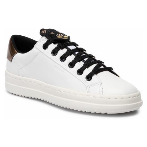 Sneakersy GEOX - D Pontoise E D94FEE 00085 C1000 White