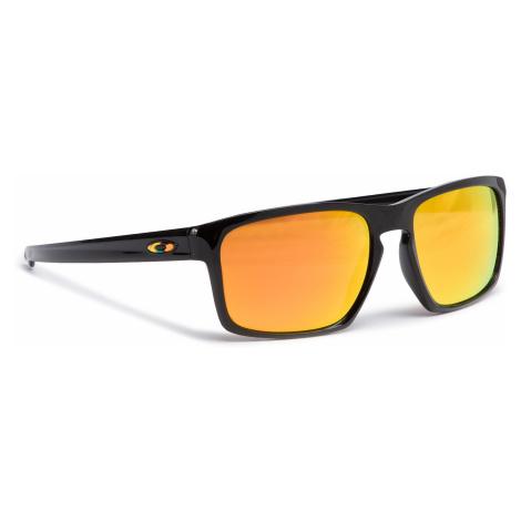 Okulary przeciwsłoneczne OAKLEY - Sliver OO9262-27 Polished Black/Fire Iridium