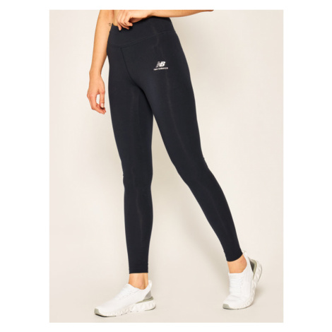 New Balance Legginsy Athletics Core WP01519 Granatowy Fitted Fit