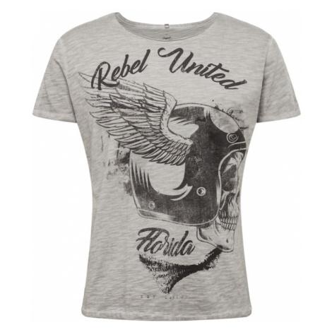 Key Largo Koszulka 'MT REBELS UNITED' srebrny / szary