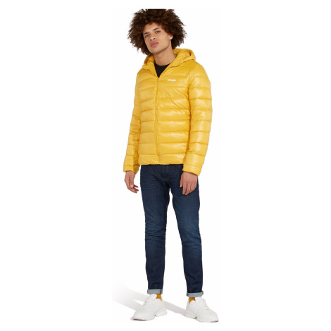 """Wrangler """"Puffer Jacket"""" Mineral Yellow"""