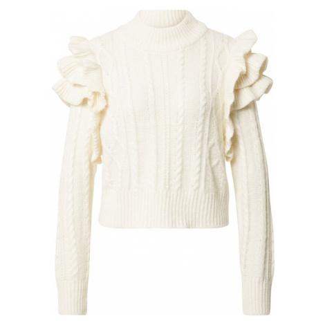 Gina Tricot Sweter biały