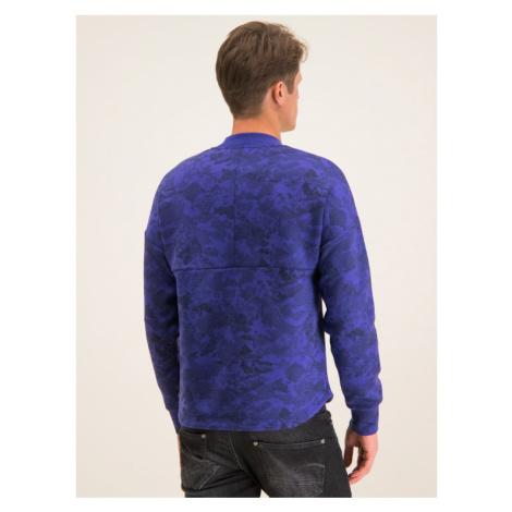 Napapijri Bluza Biel N0YIYV Fioletowy Regular Fit