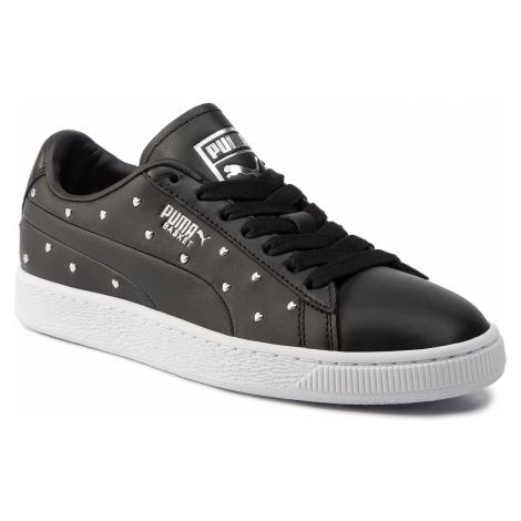 Sneakersy PUMA - Basket Studs Wn's 369298 02 Puma Black/Puma Silver