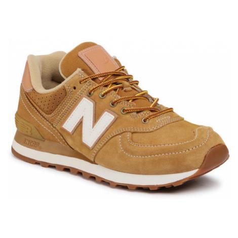 New Balance Sneakersy ML574XAA Brązowy