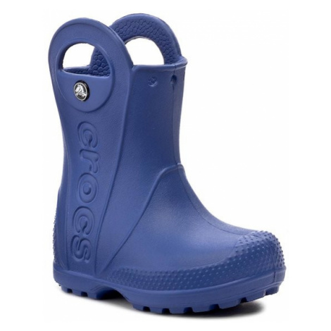Crocs Kalosze Handle It Rain Boot Kids 12803 Granatowy