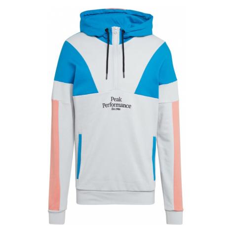PEAK PERFORMANCE Bluzka sportowa 'Original Colorblocking' koralowy / niebieski