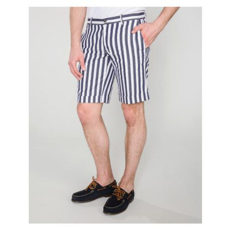 Trussardi Jeans Szorty Niebieski Biały