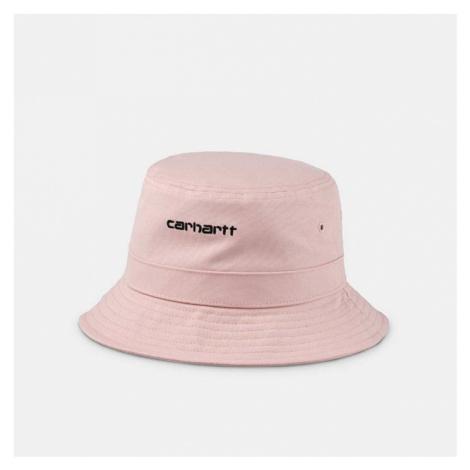 Kapelusz Carhartt WIP Script Bucket Hat I026217 FROSTED PINK/BLACK