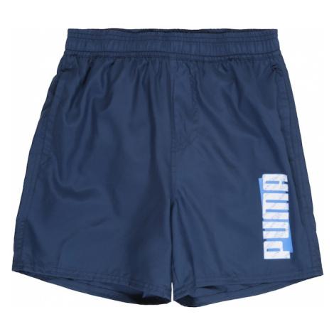 PUMA Spodnie sportowe 'ESS+ Summer' niebieski denim