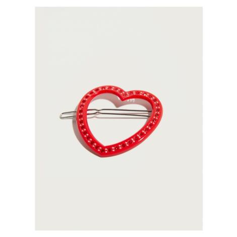 Pico For EDITED Biżuteria do włosów 'Open Heart' czerwony
