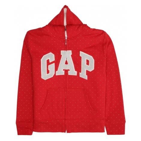 GAP Bluza rozpinana czerwony