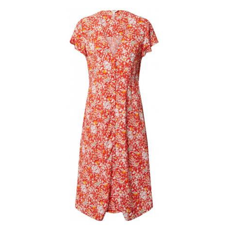 OBJECT Sukienka czerwony / żółty / biały