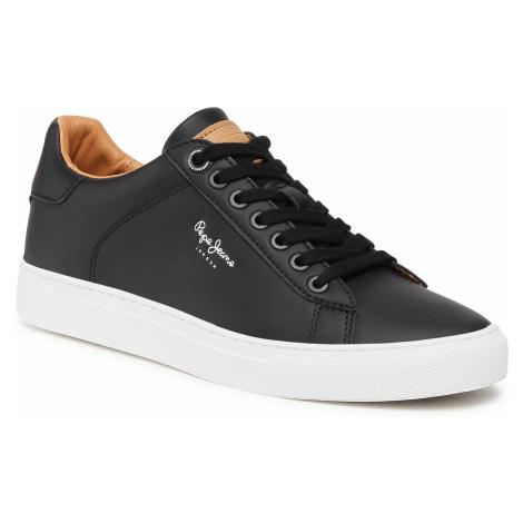 Sneakersy PEPE JEANS - Joe Cuo PMS30724 Black 999