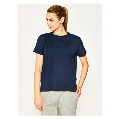 Napapijri T-Shirt Sione NP0A4E3SB Granatowy Oversize