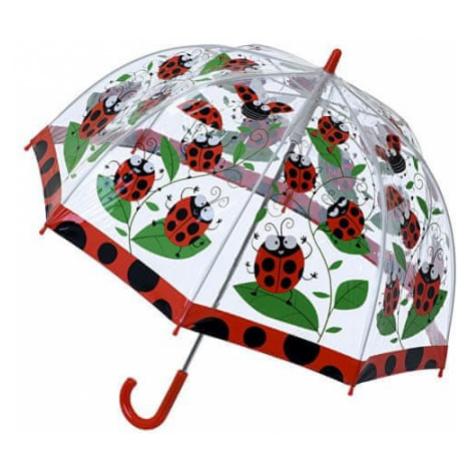 Blooming Brollies Przezroczysty parasol dziecięcy Ladybird Parasol SBULB