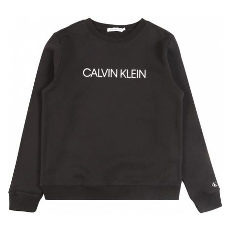 Calvin Klein Jeans Bluza 'INSTITUTIONAL' czarny