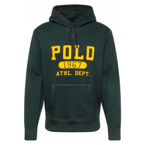POLO RALPH LAUREN Bluzka sportowa żółty / ciemnozielony