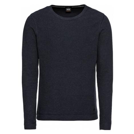 BOSS Sweter 'Tempest 10214364 01' ciemny niebieski Hugo Boss