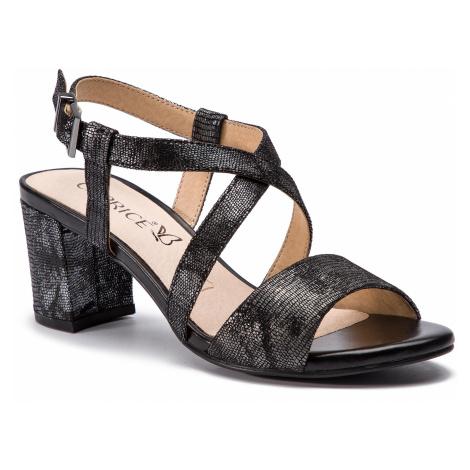 Sandały CAPRICE - 9-28300-22 Black Rept.Mul 014