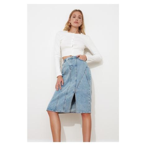 Spódnice jeansowe Trendyol