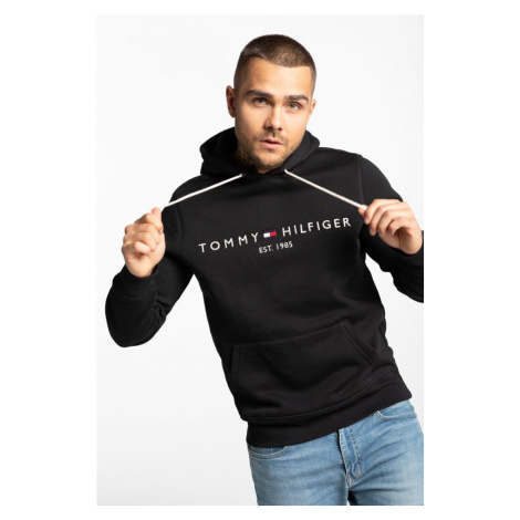 Bluza Tommy Hilfiger Core Tommy Logo Hoody Mw0Mw10752-Bas Black