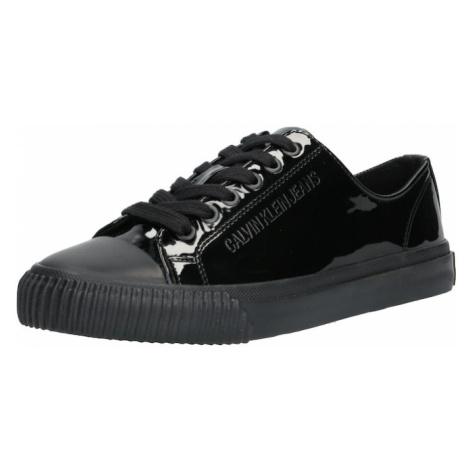 Calvin Klein Jeans Trampki niskie 'IRELAND' czarny