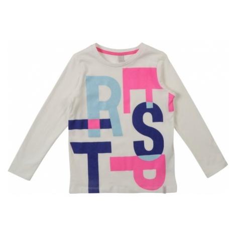 ESPRIT Koszulka jasnoniebieski / różowy / biały