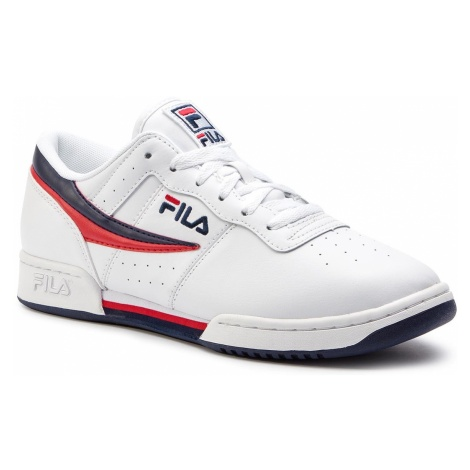 Sneakersy FILA - Original Fitnes 1010492.150 White/Fila Navy/Fila Red