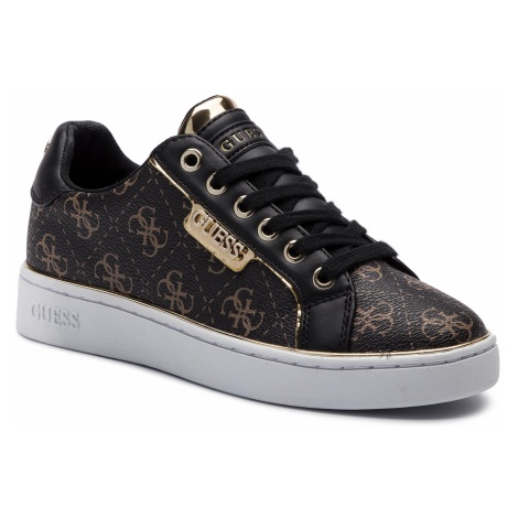 Sneakersy GUESS - Banq FL7BAN FAL12 BROWN/BLACK