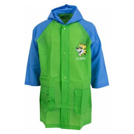 Viola Płaszcz przeciwdeszczowy zielony 120 - Dziecięcy płaszcz przeciwdeszczowy